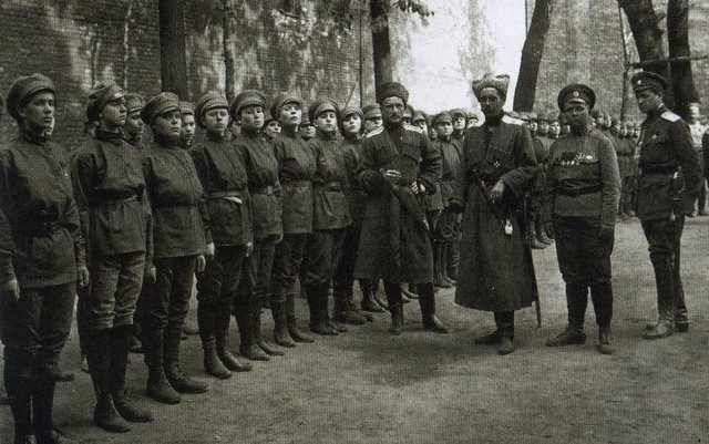 The real Women's Battalion of Death