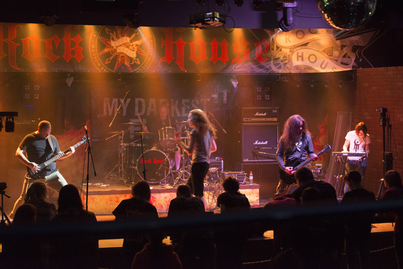 One of the bands playing at the M.M.M event.